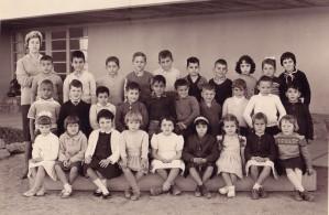 Une classe Maternelle – Année scolaire 1960-1961